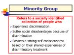 minority group