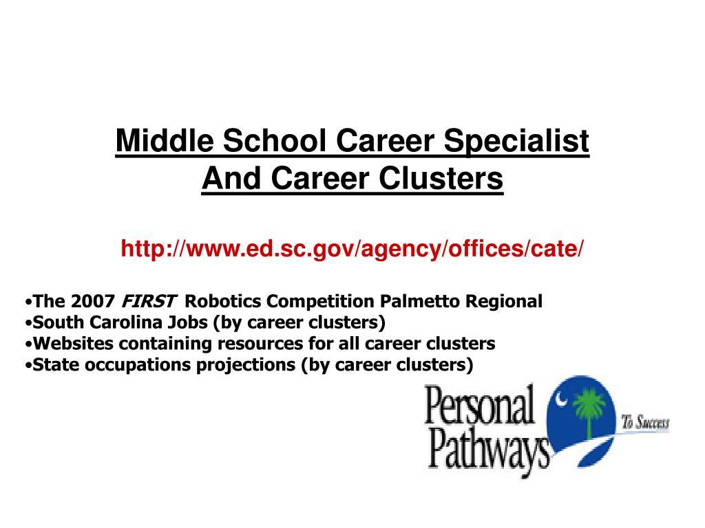 Middle School Career Specialist