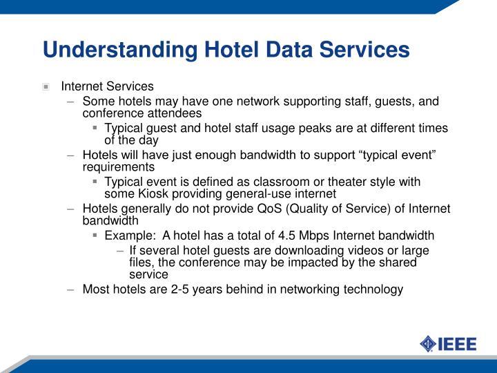 Understanding hotel data services