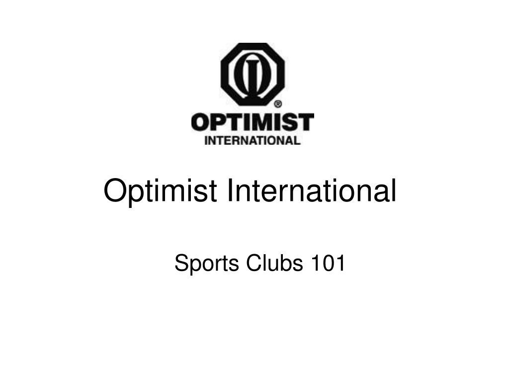 optimist international l.