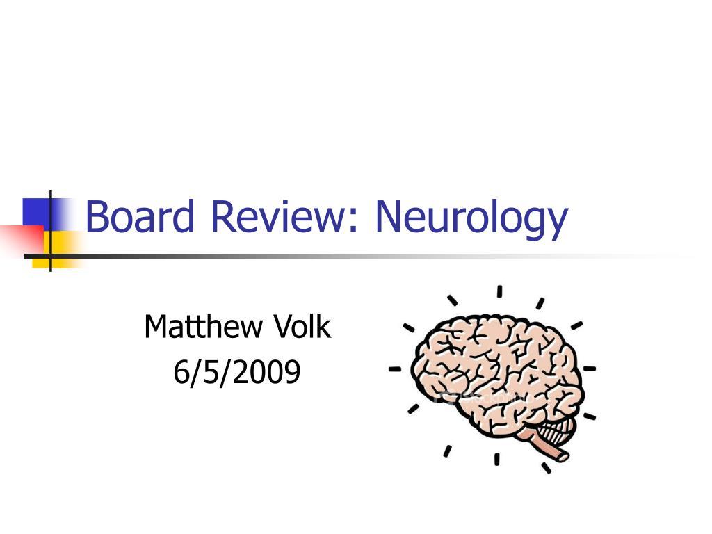 board review neurology l.