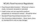 ncua s flood insurance regulations