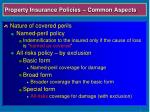 property insurance policies common aspects6