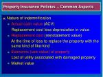 property insurance policies common aspects7