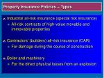property insurance policies types11