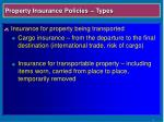 property insurance policies types14