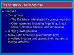 the americas latin america