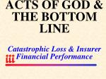 acts of god the bottom line catastrophic loss insurer financial performance