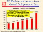 tx windstorm insurance assoc growth in exposure to loss