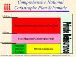comprehensive national catastrophe plan schematic