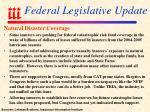 federal legislative update106