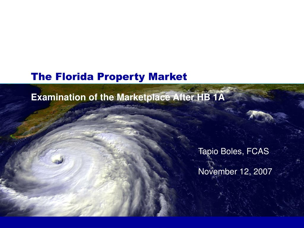 the florida property market l.