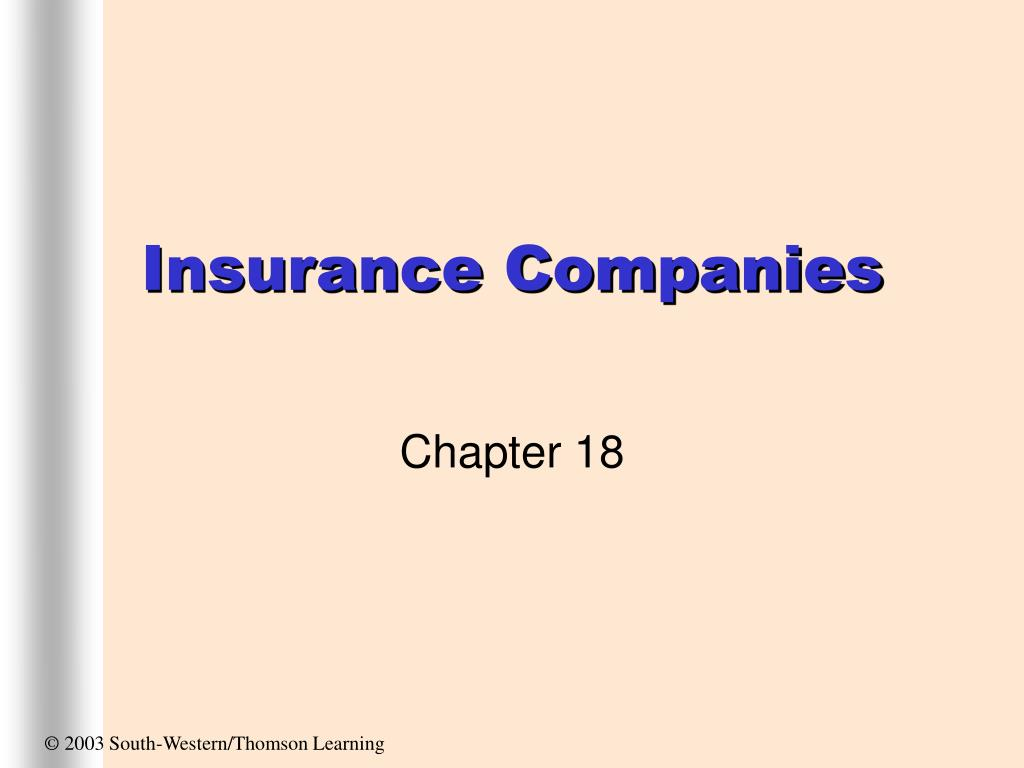 insurance companies l.