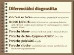 diferenci ln diagnostika