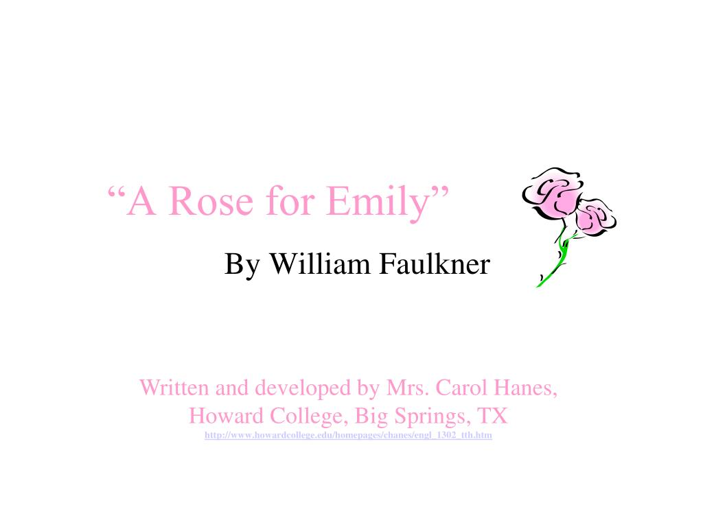 the theme of death in william faulkners a rose for emily