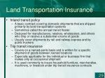 land transportation insurance29