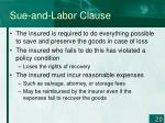 sue and labor clause