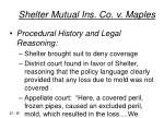 shelter mutual ins co v maples15