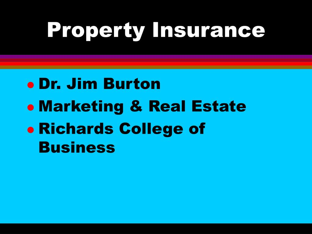 property insurance l.