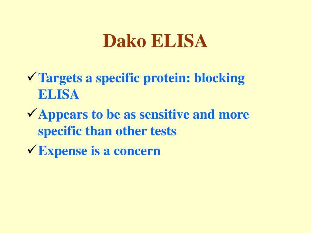 Dako ELISA