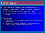 claims settlement10