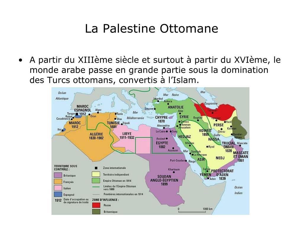 La Palestine Ottomane