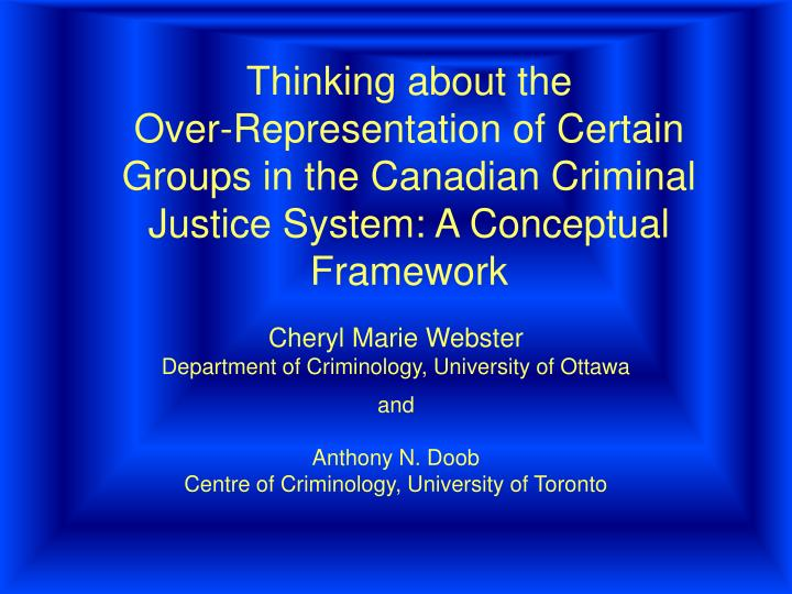 technology in the criminal justice system essay