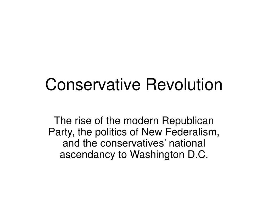 Conservative Revolution