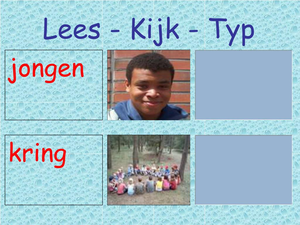 Lees - Kijk - Typ