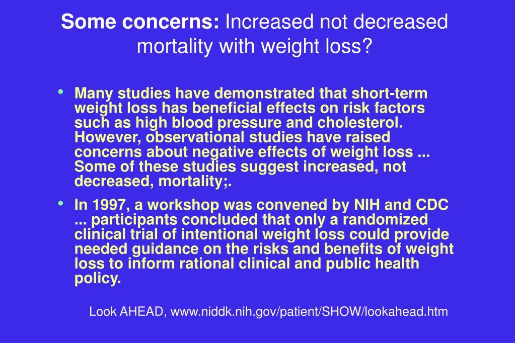 Some concerns: