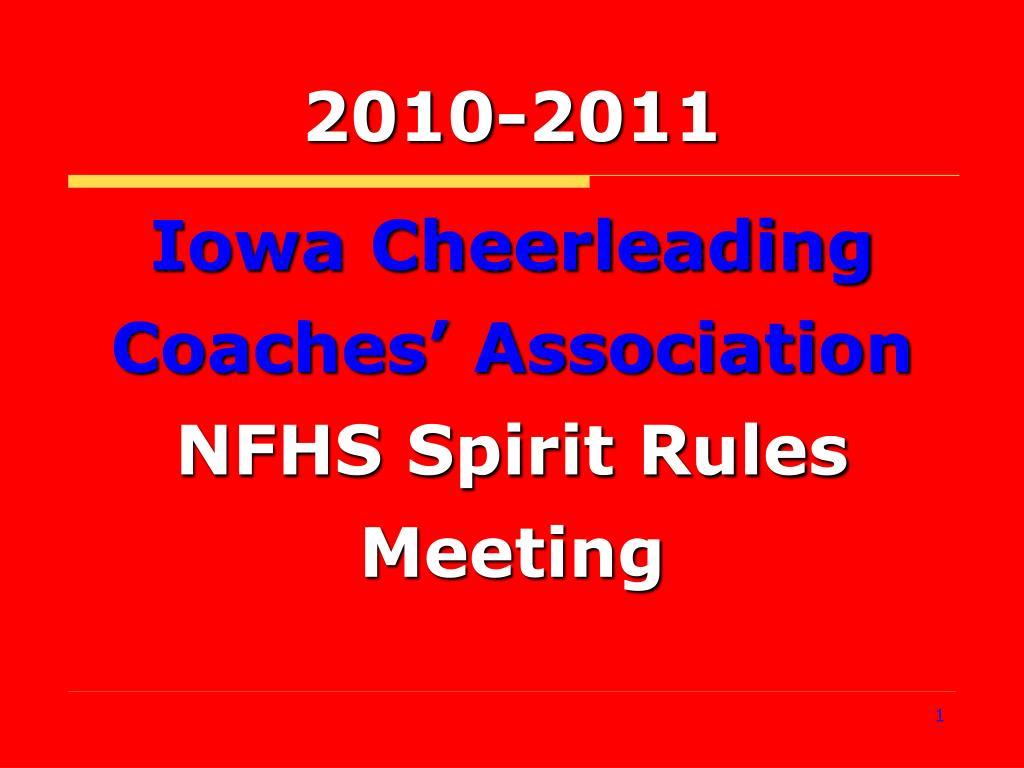 Iowa Cheerleading Coaches' Association