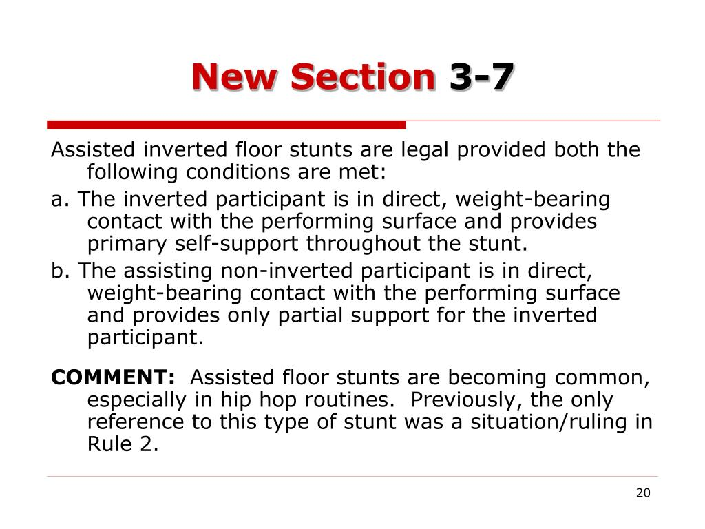New Section