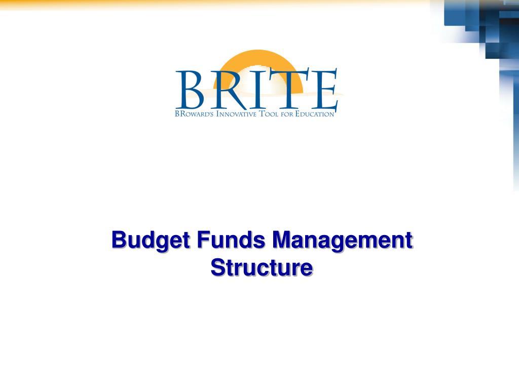 Budget Funds Management