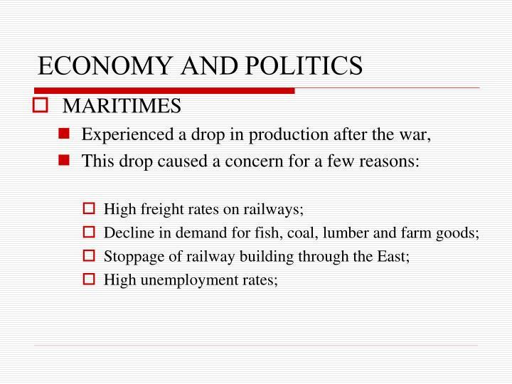Economy and politics3
