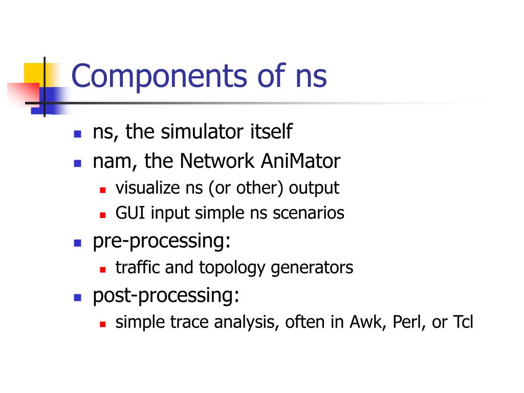 Components of ns