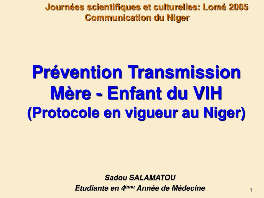 Journées scientifiques et culturelles: Lomé 2005
