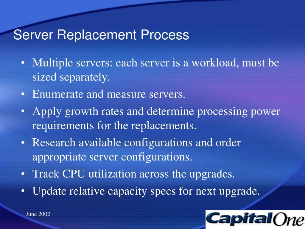 Server Replacement Process