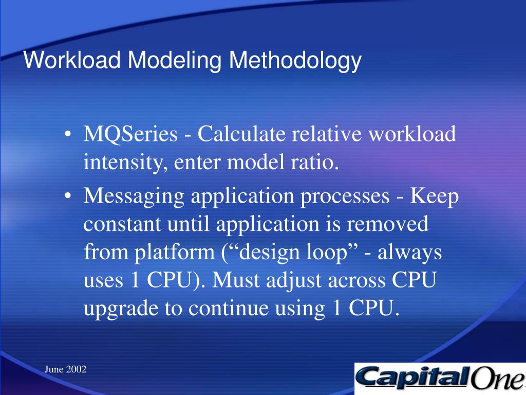 Workload Modeling Methodology