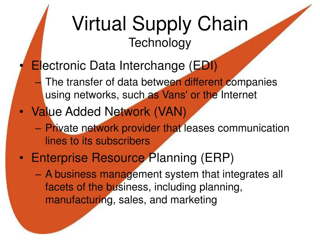 edi as a supply chain technology essay