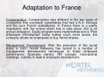 adaptation to france1