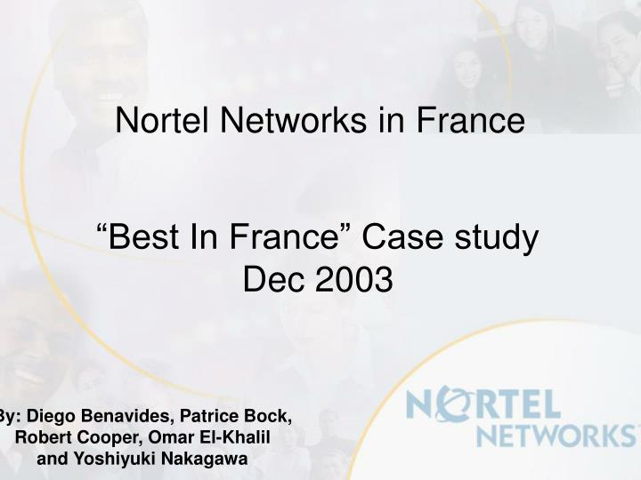 nortel networks in france n.