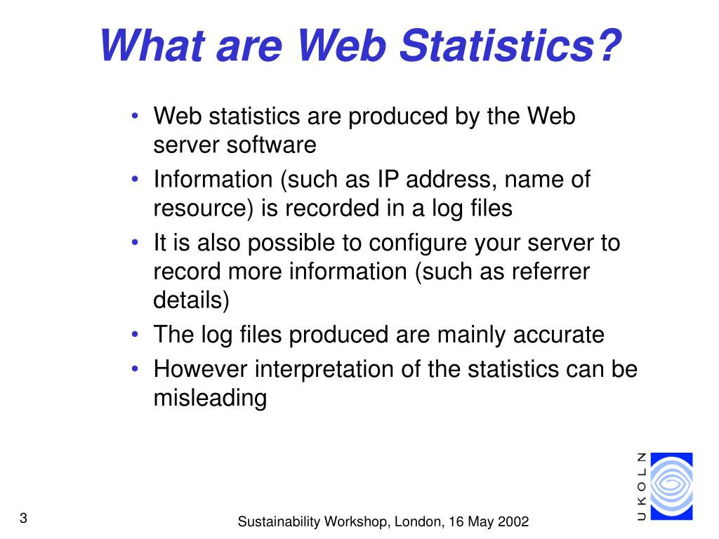 What are Web Statistics?