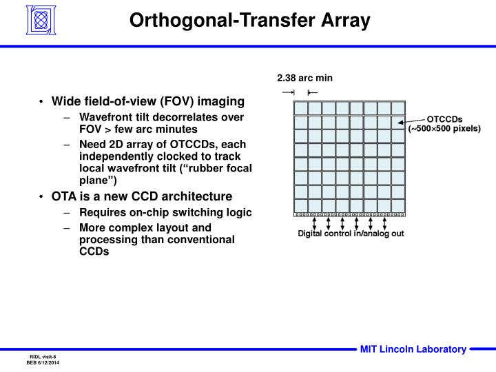 Orthogonal-Transfer Array