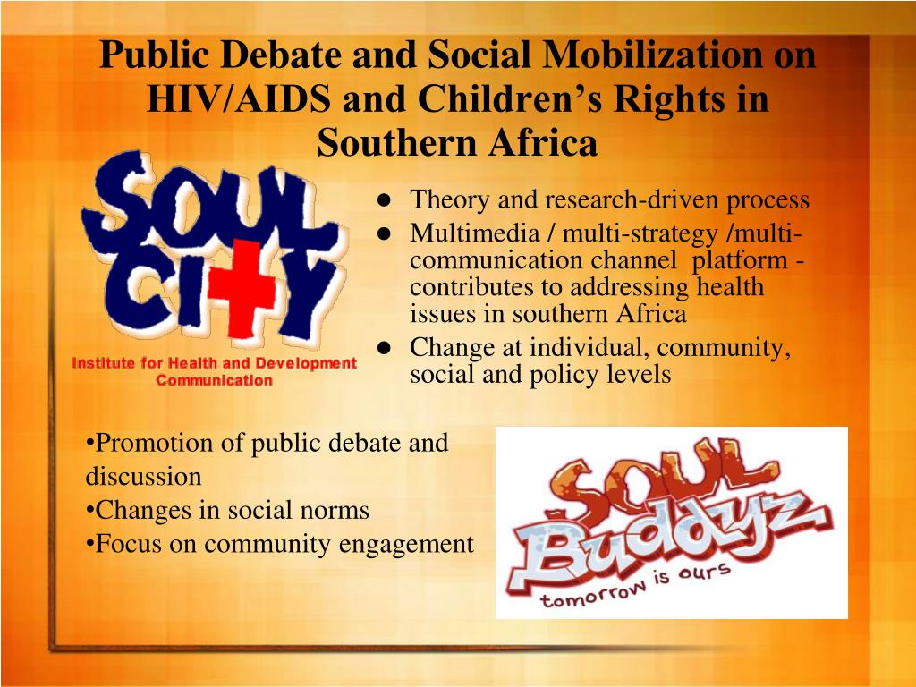 Public Debate and Social Mobilization on HIV/AIDS and Children's Rights in Southern Africa