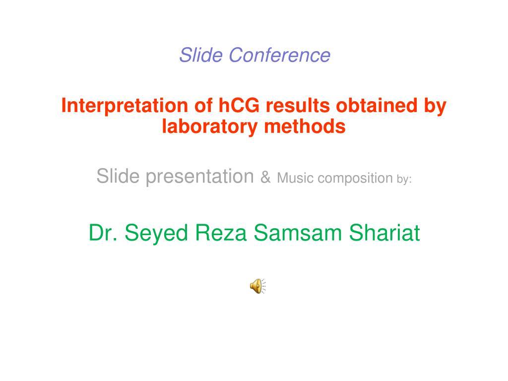 Slide Conference