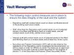 vault management19