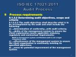iso iec 17021 2011 audit process14