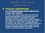 iso iec 17021 2011 audit process15