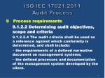 iso iec 17021 2011 audit process16