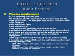 iso iec 17021 2011 audit process17